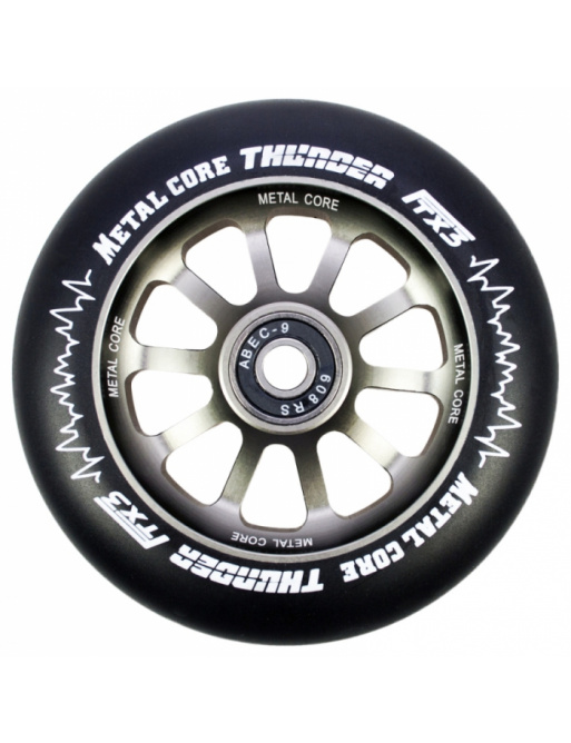 Metal Core Thunder 120 mm black wheel