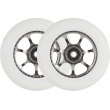 Tilt Stage II spoked white wheels 2pcs