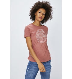 Roxy T-shirt Red Sunset 437 mmg0 withered rose lily house 2018/19 women's vell.S