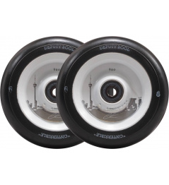 Wheels North Signature 110x24mm Ethan Kirk Matte Black & White
