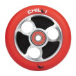 CHILLI Parabol 100 mm red / black wheel