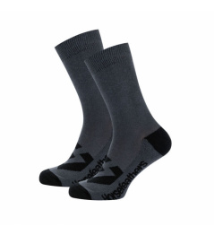 Ponožky Horsefeathers Loby Crew gray 2020/21 vell.8-10
