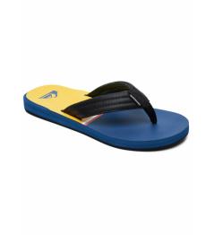 Sandals Quiksilver Carver blue / black / yellow 2019 vell.EUR44