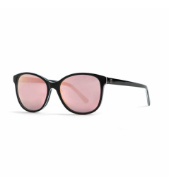 Horsefeathers Chloe glasses - gloss black / mirror rose 2021