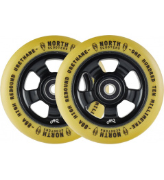 Wheels North HQ V2 110mm Black / Gum 2pcs