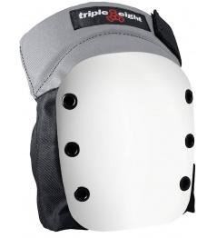 Protectors Triple Eight Street Skate Knee Pads With Black / White