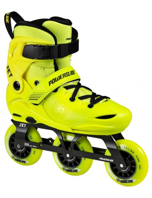 Children's roller skates Powerslide Jet Neon Yellow