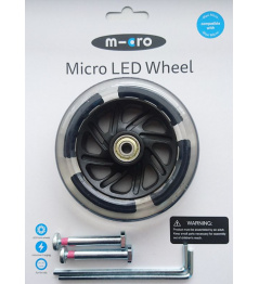 Illuminated LED wheels 120 mm for Maxi Micro - 2pcs