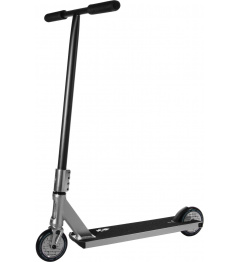 North Switchblade 2021 Freestyle Scooter (Silver & Matte Black)