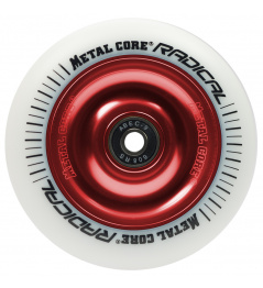Metal Core Radical 110 mm castor white white