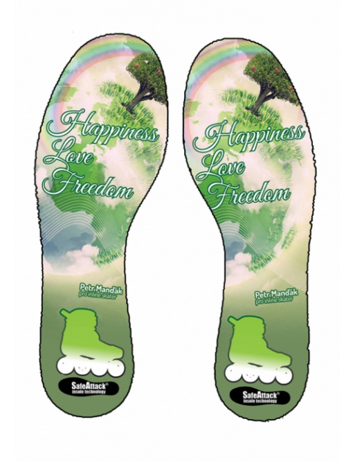 SafeAttack insole for Mendy model