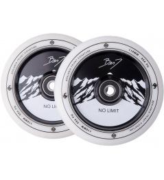 Wheels Striker Benj No Limit 110mm White / Black 2pcs