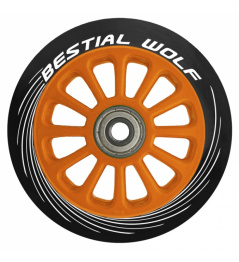 Bestial Wolf Pilot orange wheel