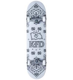 "Skateboard KFD Bandana Set 8 ""White"