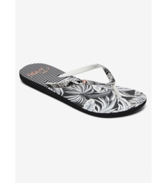 Flip flops Roxy Portofino black / white print 2020 women's vell.EUR37