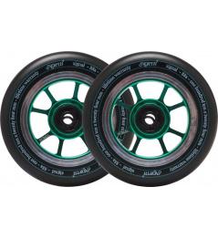 Wheels North Signal 110x30mm Emerald 2pcs