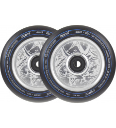 North Vacant V2 Pro Scooter Wheels 2-Pack (Silver)