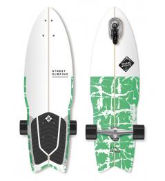 """Longboard Street Surfing SHARK ATTACK 30 """"Psycho Green"""