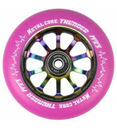 Metal Core Thunder Rainbow 110 mm round pink