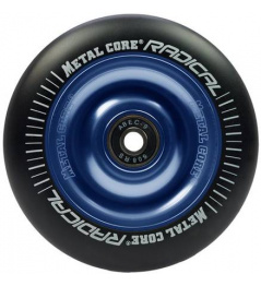 Metal Core Radical 100mm wheel black-blue