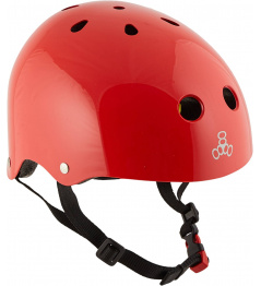 Helmet Triple Eight Brainsaver 2 MiPS L / XL Red Glossy