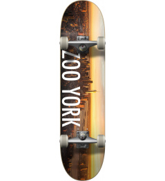 Zoo York Logo Block Complete Skateboard (8.25 "