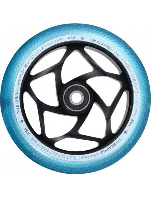 Wheels Blunt Tri bearing 120x30mm teal