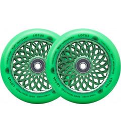Root Lotus wheels 110x24mm Radiant Green