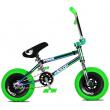 Wildcat Royal Original 2A Mini BMX Wheel (Green   without brakes)