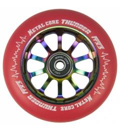 Metal Core Thunder Rainbow 110 mm castor red