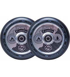Wheels Striker Toni Castillo 110mm Silver Black