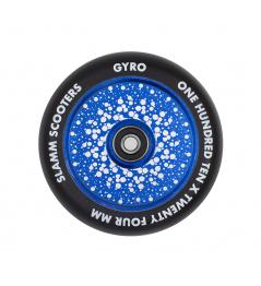 Slamm wheel 110mm Gyro Hollow Core blue