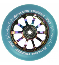 Metal Core Thunder Rainbow 110 mm blue wheel