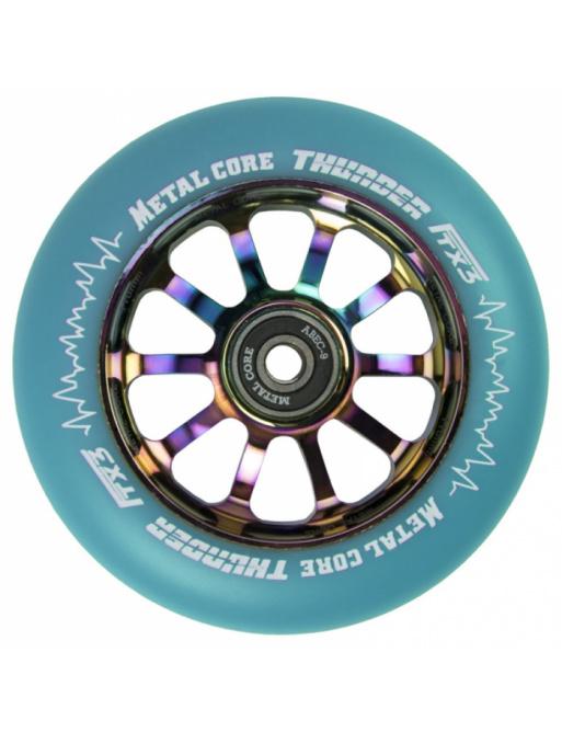 Metal Core Thunder Rainbow 110 mm blue wheel