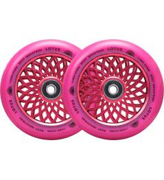 Root Lotus wheels 110x24mm Radiant Pink 2pcs