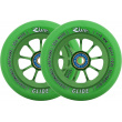 River Glide Emerald Wheels Green 2pcs