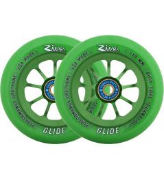 River Glide Emerald zelená kolečka