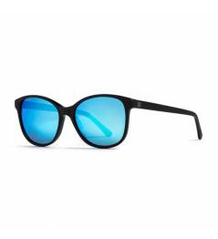 Horsefeathers Chloe glasses - matt black / mirror blue 2021