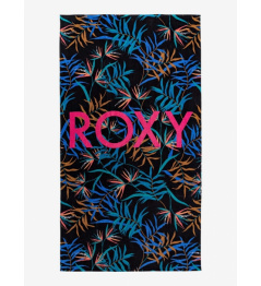 Roxy Cold Water Bath Towel 692 kvj8 anthracite wild leaves with 2020 ladies