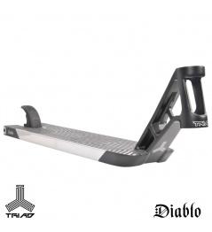 Triad Diablo 560mm deska stříbrná pro freestyle koloběžky