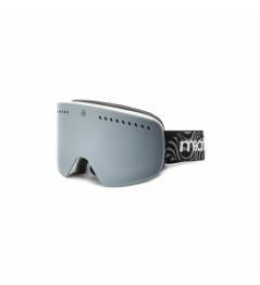Meatfly Makki XL Glasses A white + lens 2018/19