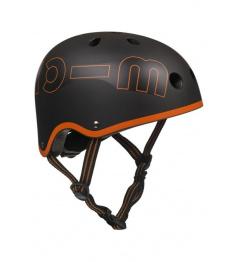 Helmet Micro Black & Orange