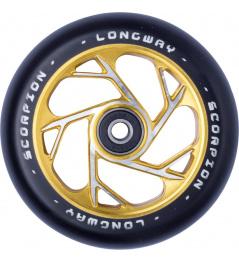 Longway Scorpion wheel 110mm gold