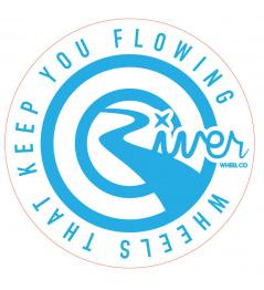 Sticker River Wheel Round