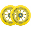 River Rapid Sunrise wheels yellow 2pcs