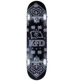"Skateboard KFD Bandana Set 8 ""Black"