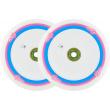 Wheels UrbanArtt Original 120mm Pink / White 2pcs