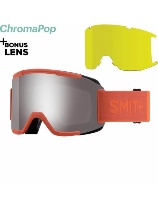 Glasses SMITH Squad burnt orange / chromaPop sun platinum 2020/21