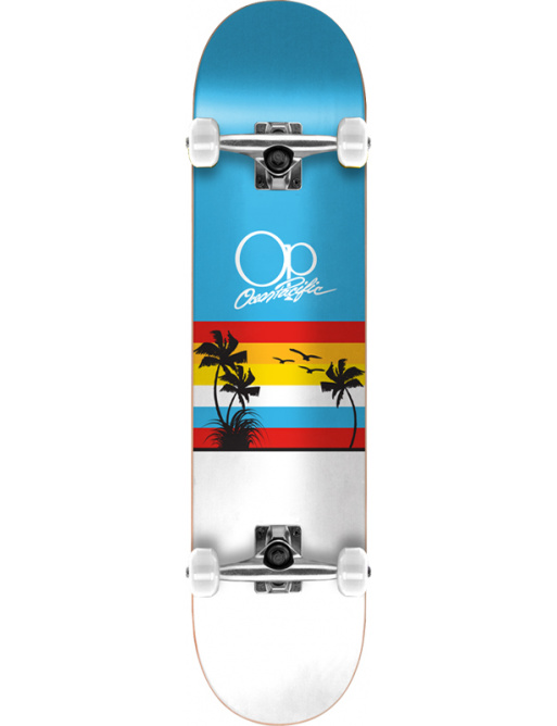 "Ocean Pacific Sunset Skateboard Komplet (8.25""   Modrá)"