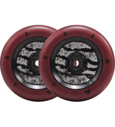 Wheels North Signature 110x24mm Jonas Johnson Dark Red & Matte Black